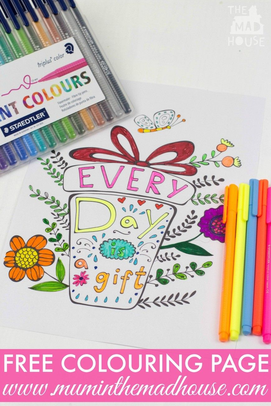 Inspirational Quotes Colouring Pages For Adults And Kids