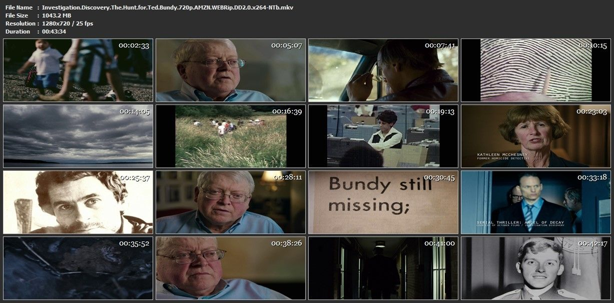 Investigation Discovery The Hunt For Ted Bundy 720p Amzn
