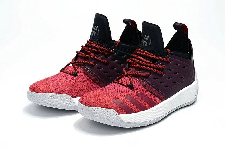 7ab8cb457f7b Cheapest And Latest adidas Harden Vol 2 AH2124 Maroon Red