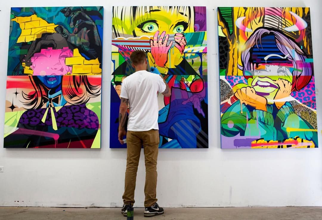 How Does A Graffiti Writer Gain Access To The Broader Art Community And Fine Art Collector Without Knocking Down The Walls Clumsily