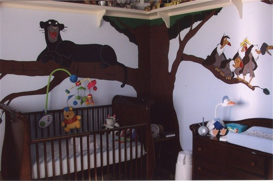 This Was My Son S Jungle Book Nursery A Lot Of Painting