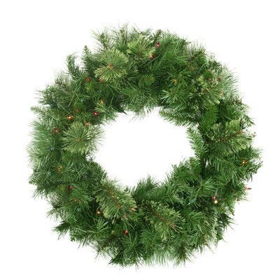 Northlightseasonal Pre Lit Atlanta Mixed Cashmere Pine Artificial Christmas Wreath Christmas Wreaths With Lights Artificial Christmas Wreaths Christmas Wreaths