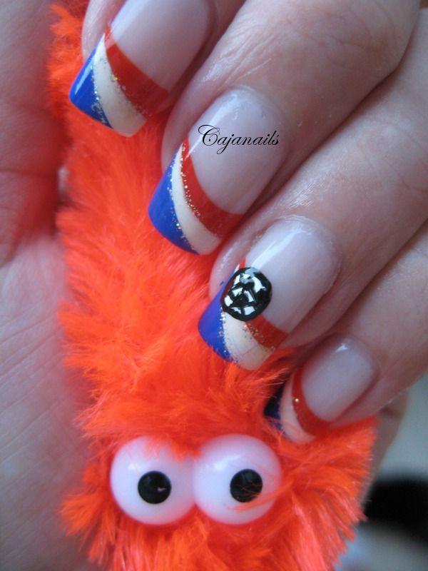 Nail art European championship nails The Netherlands | Innovative ...