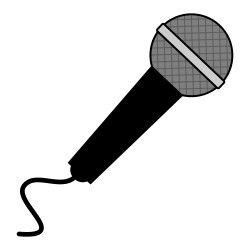 free microphone clipart from icontoon com these images can be used rh pinterest com microphone clip art download free microphone clip art black and white