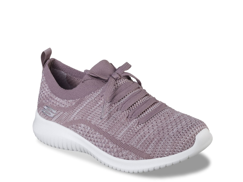 Women Ultra Flex Statements Sneaker – Women's -Mauve/Light Pink