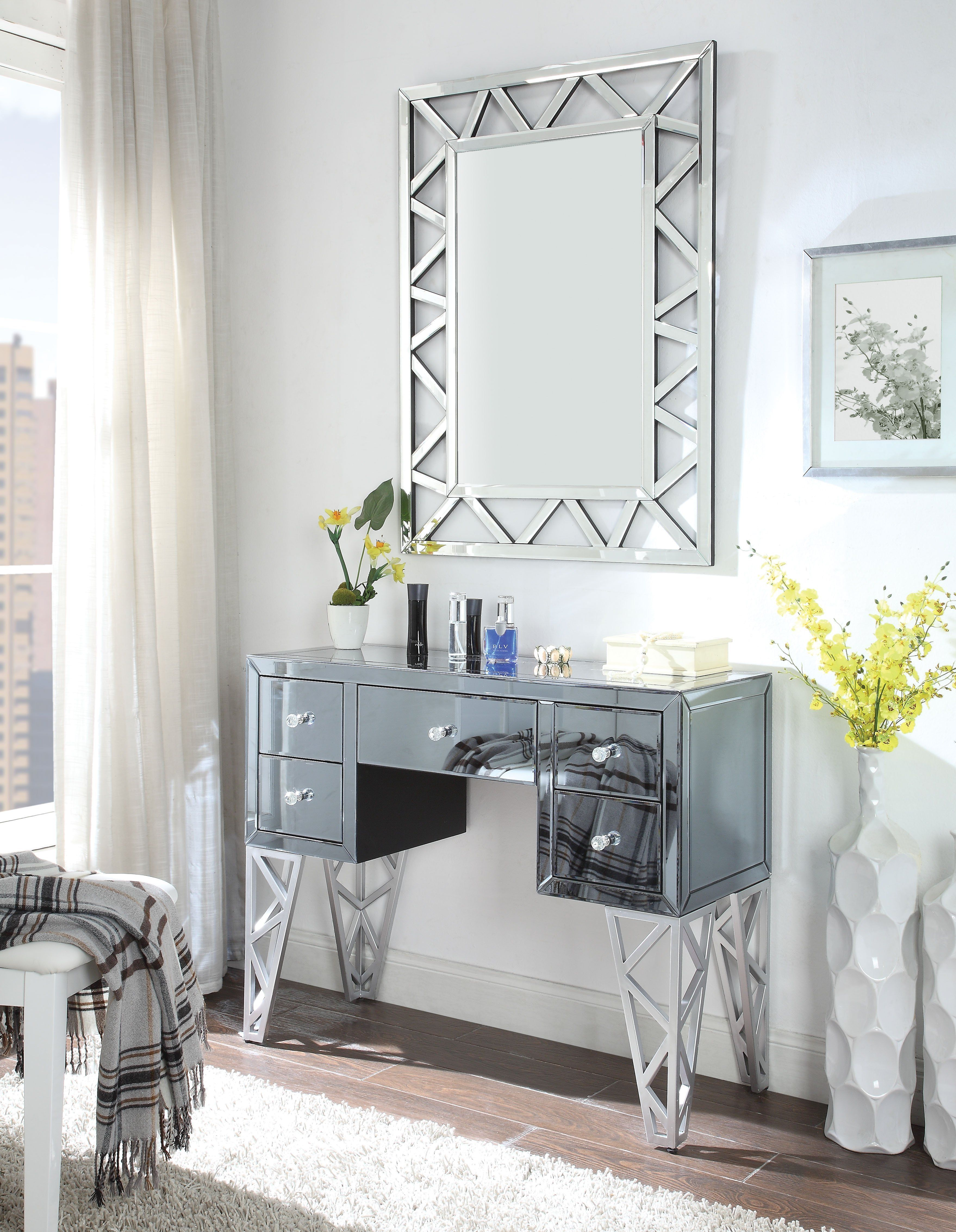Pin On Mirrors And Mirrored Furniture