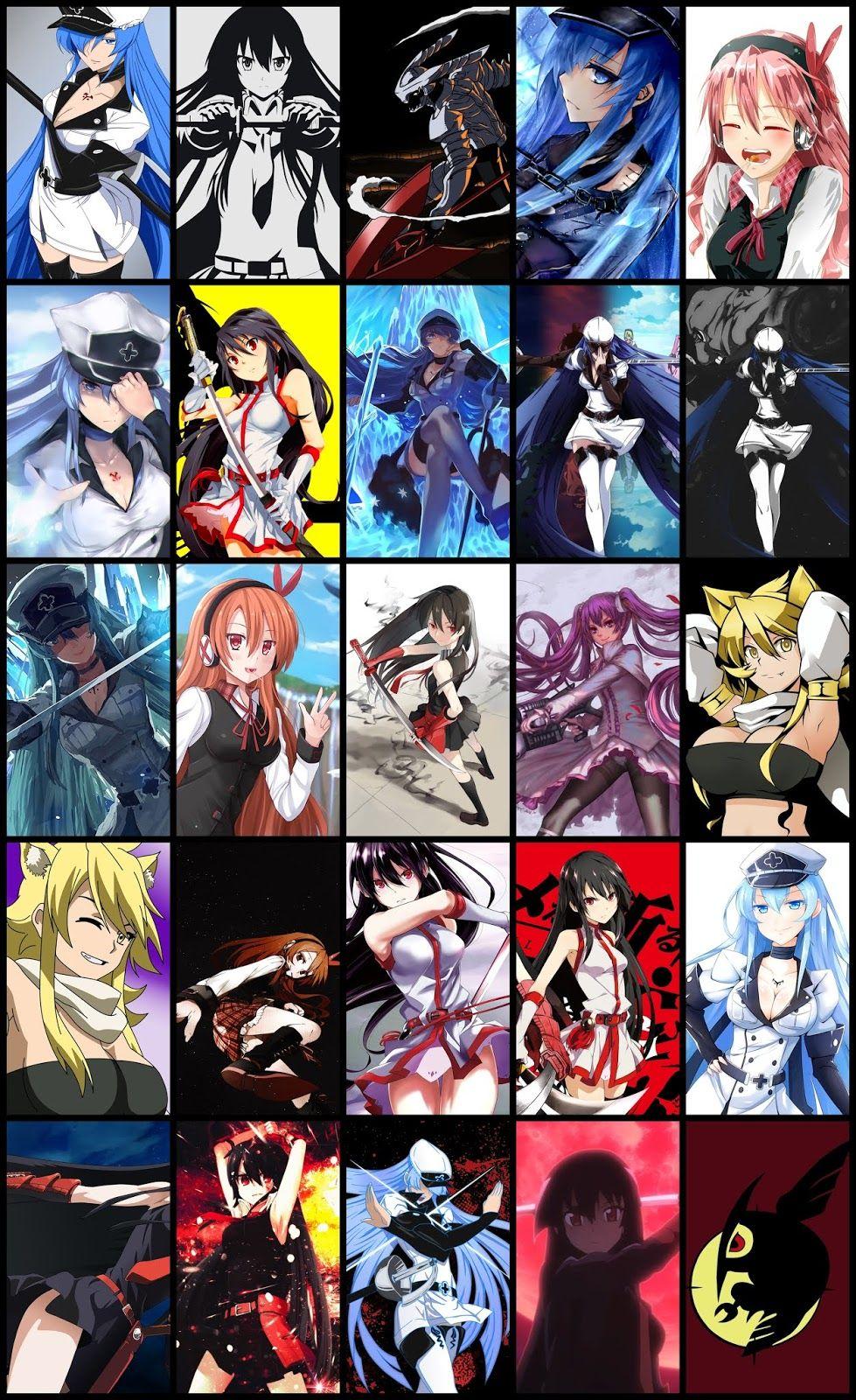 Akame Ga Kill Wallpaper Pack For Mobile Phone (Part 02