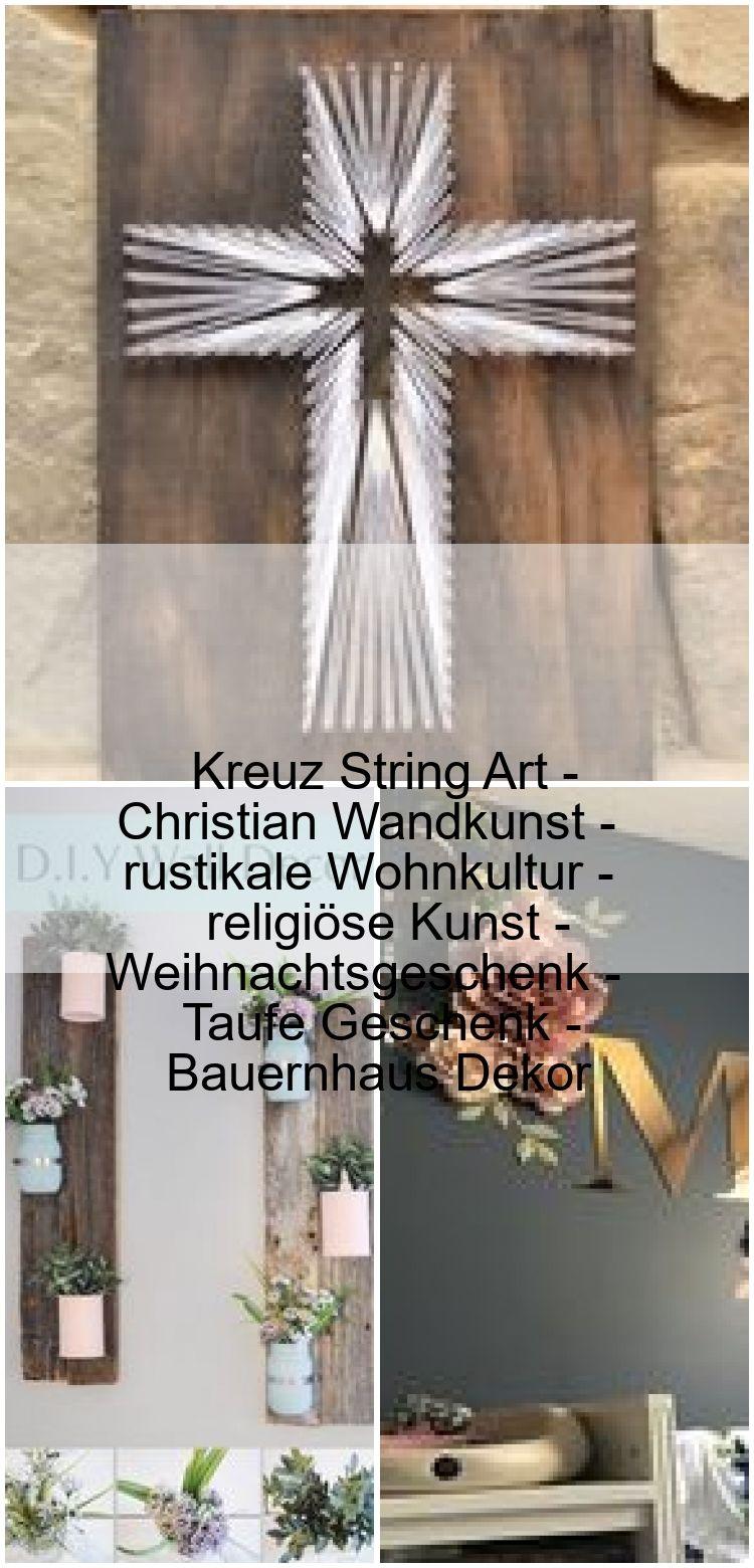 Kreuz String Art - Christian Wandkunst - rustikale Wohnkultur - religiöse Kunst - Weihnachtsgeschenk - Taufe Geschenk - Bauernhaus Dekor ,  #Art #Bauernhaus #Christian #Dekor #Geschenk #Kreuz #Kunst #religiöse #Rustikale #String #Taufe #Wandkunst #Weihnachtsgeschenk #Wohnkultur