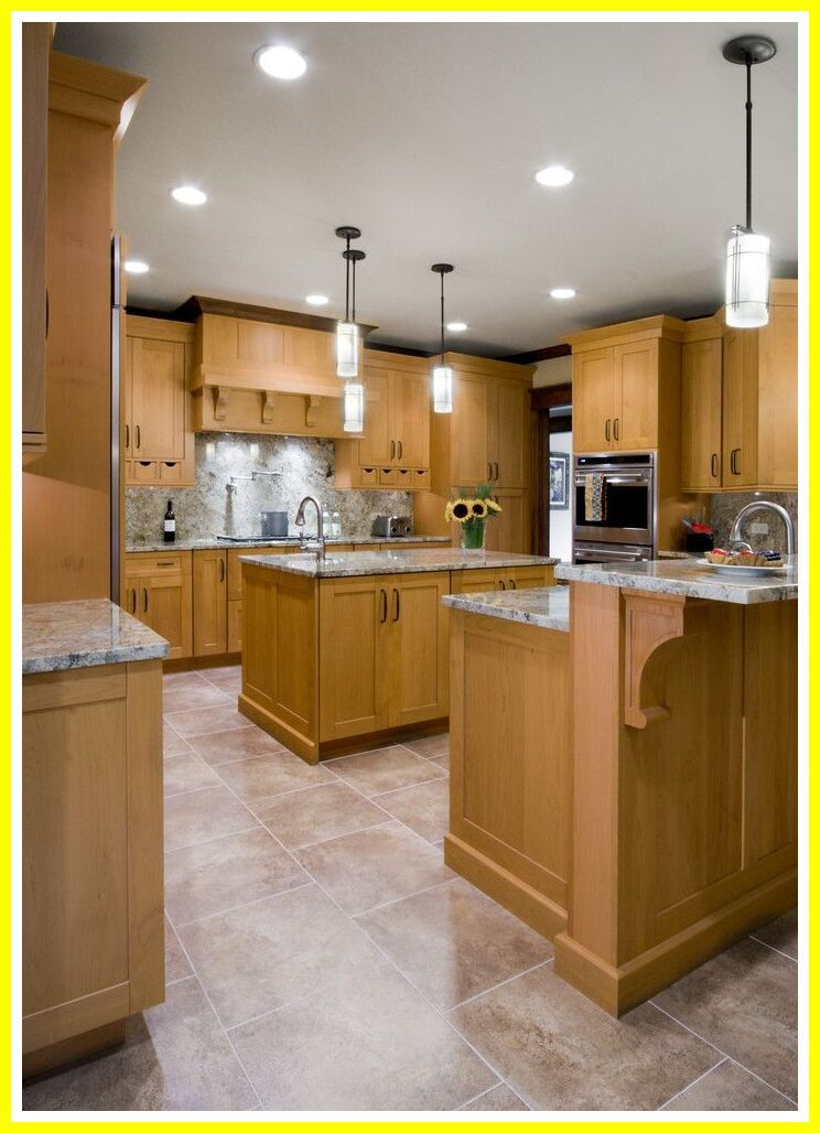 127 reference of kitchen tile floor ideas with light wood ...