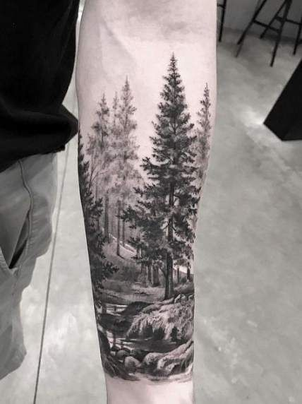 59 trendy tattoo sleeve forest nature