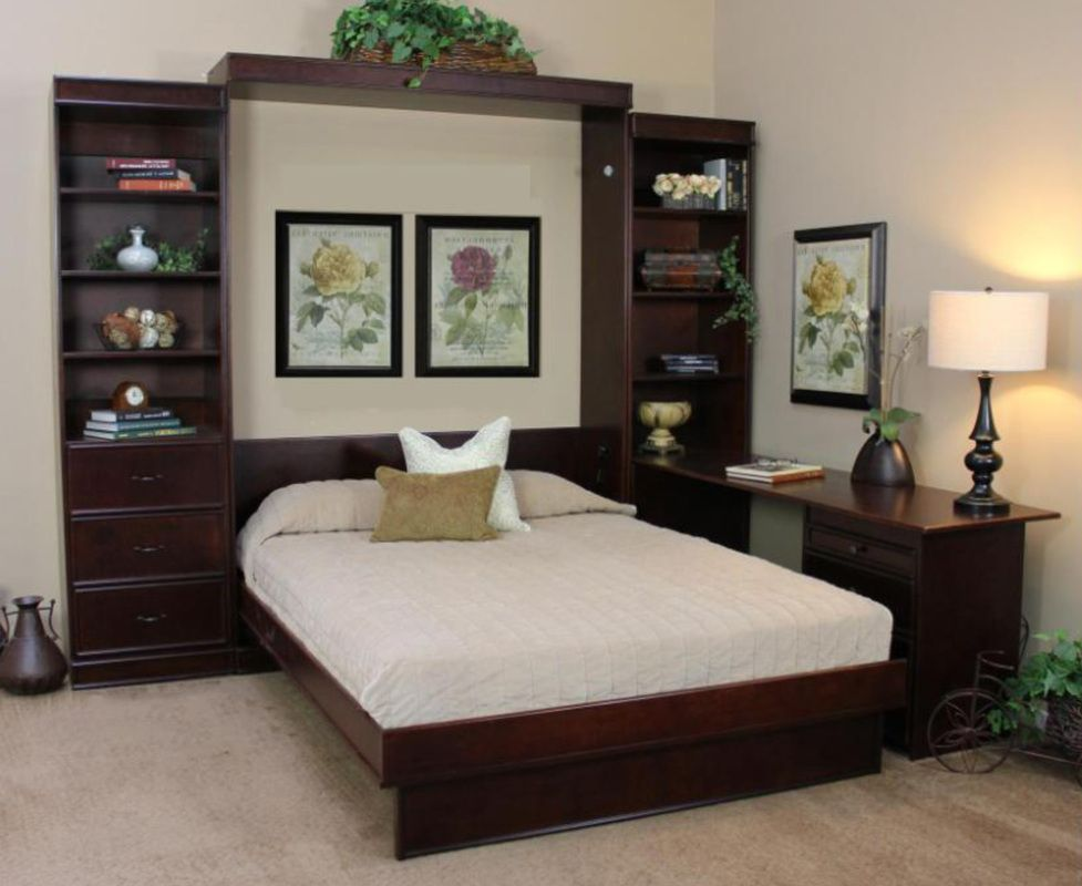 Portola Wallbed With Pier Cabinets Bed Wall Most Comfortable Bed Bed