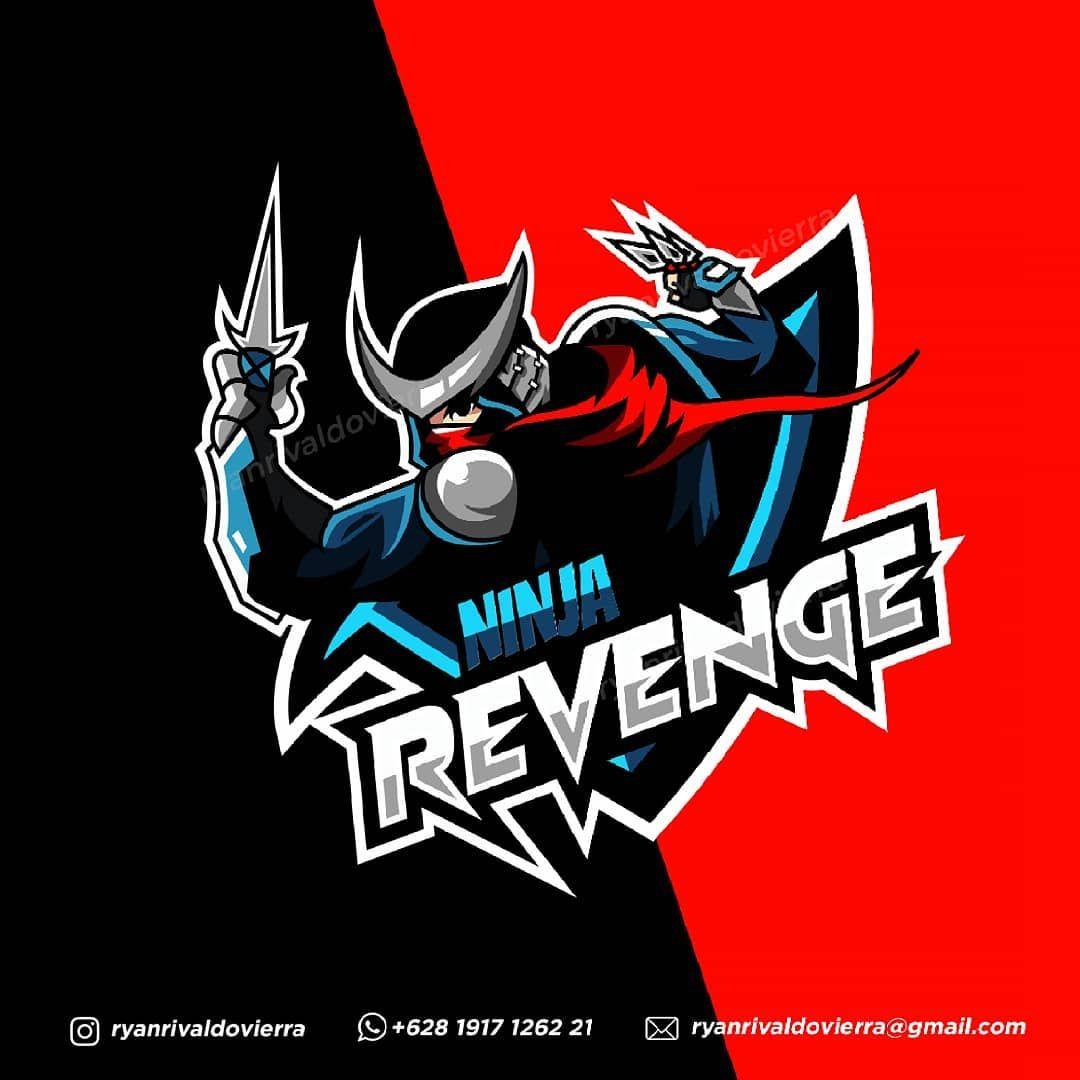 Ninja Revange Hayabusa Hayabusa Esportlogo Logo Mascot Mascotlogo Portofolio Logodesign Ninja Fornite Gaminglogo Ninjalogo