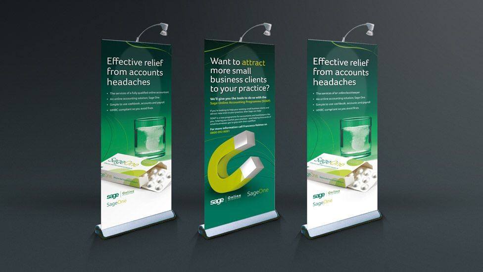 Roll Up Banner Design Inspiration Sage pull up banner stand | Roll ...