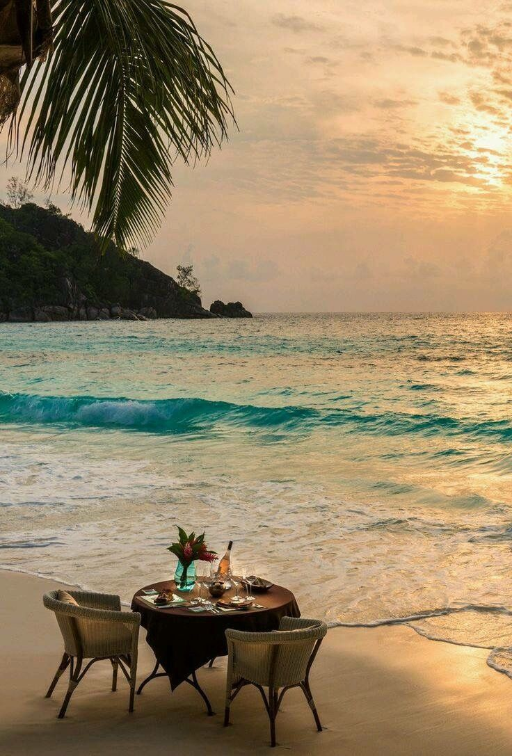 untitled they call me nita dinner on the beach the four 美しい場所 風景 美しい風景