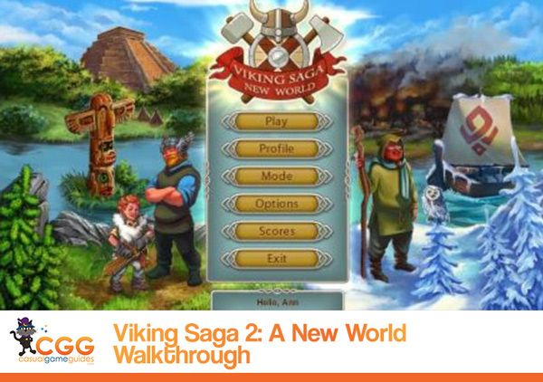 Our Viking Saga A New World Walkthrough Is Live Viking Saga New World Vikings I live in a small town near moscow. pinterest