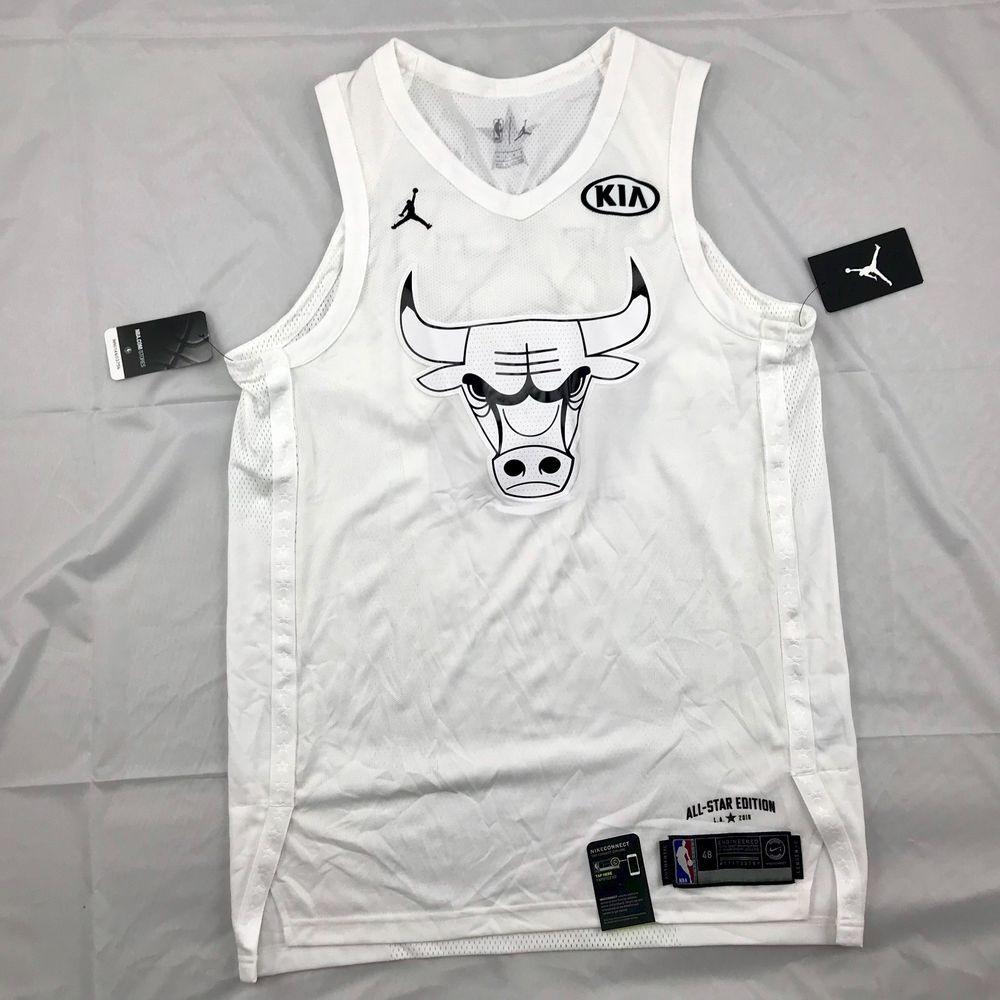 new arrival 58473 20863 Nike NBA Chicago Bulls Michael Jordan Authentic All Star ...