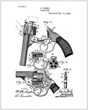 Firearms, Vintage Internet Patent Reproductions Save those