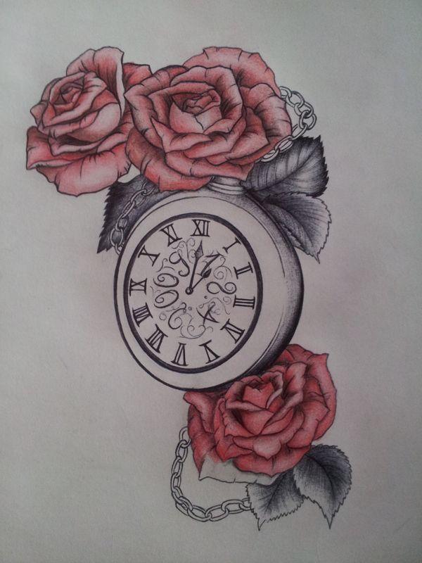 Plantillas de tatuajes dise os de relojes relojes for Reloj para tatuar
