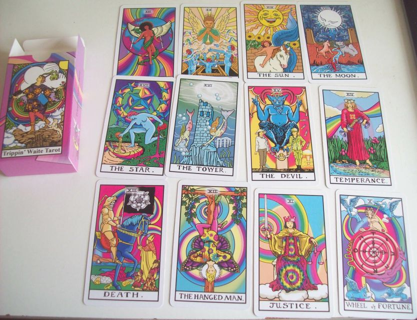 Divination Universal Waite Tarot Deck Beautiful illustrations Meditation