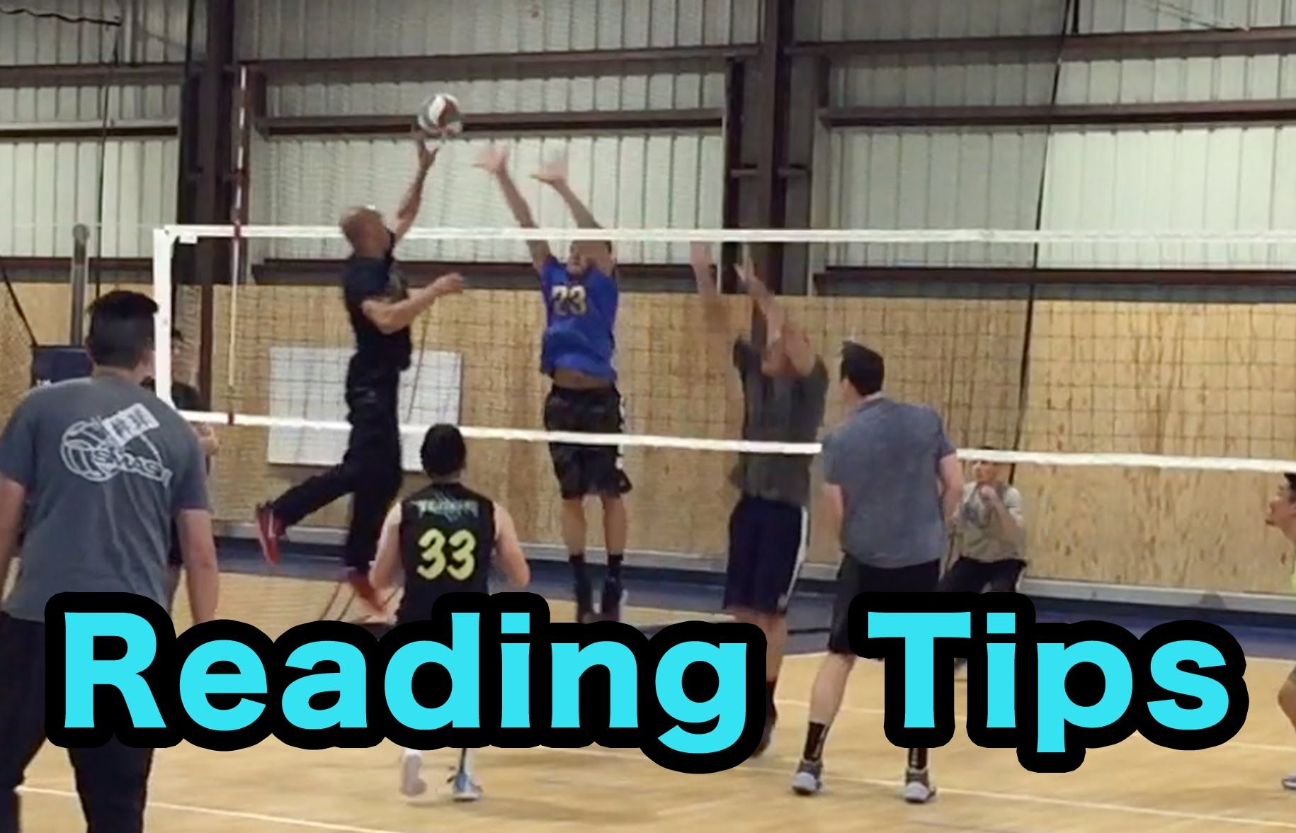 Reading Tips How To Read Hitters Part 2 2 Volleyball Defense Tutorial Volleyball Skills Volleyball Training Volleyball Drills