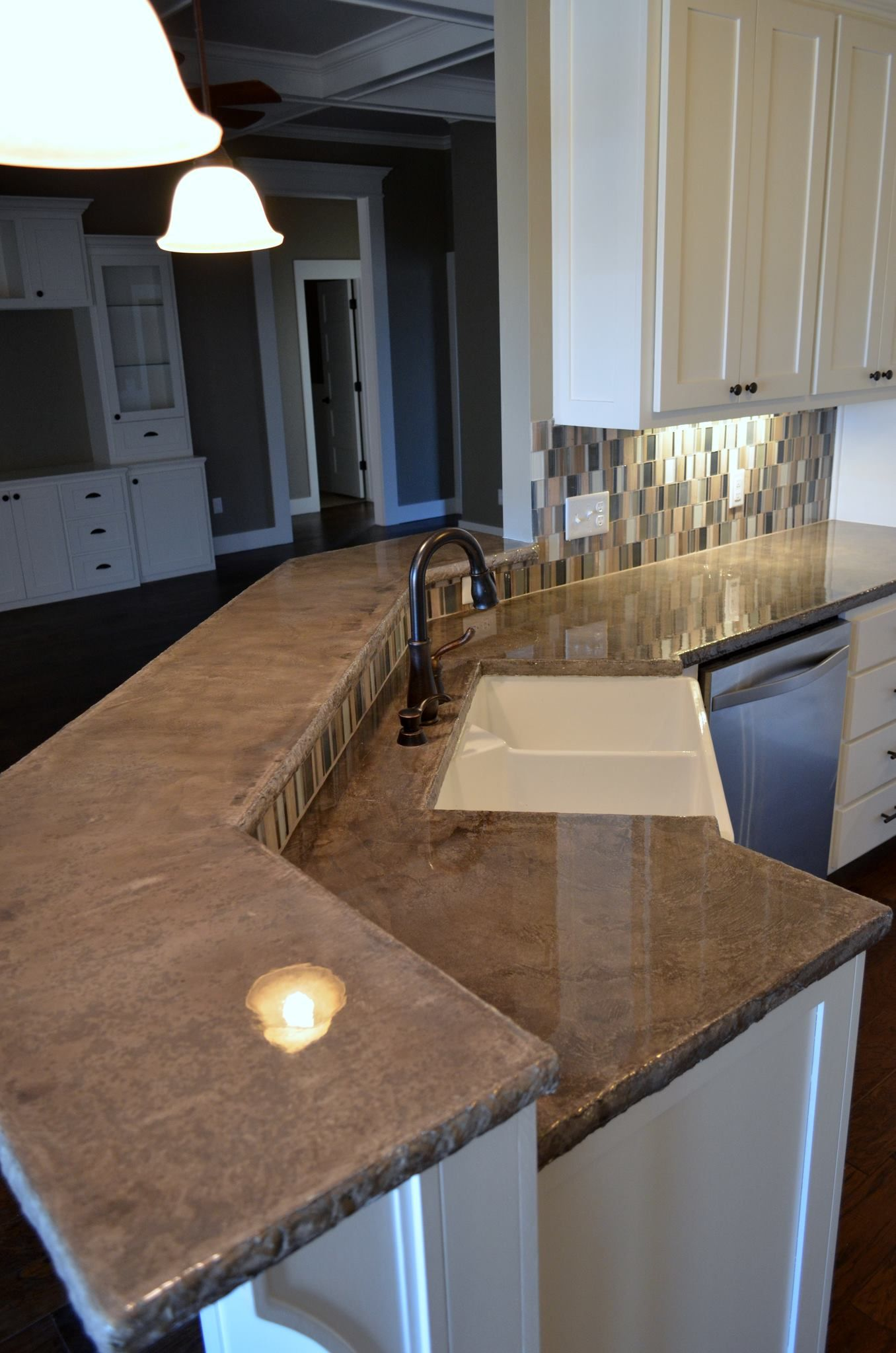 harden kitchen plans concrete countertops and dry surface up set to