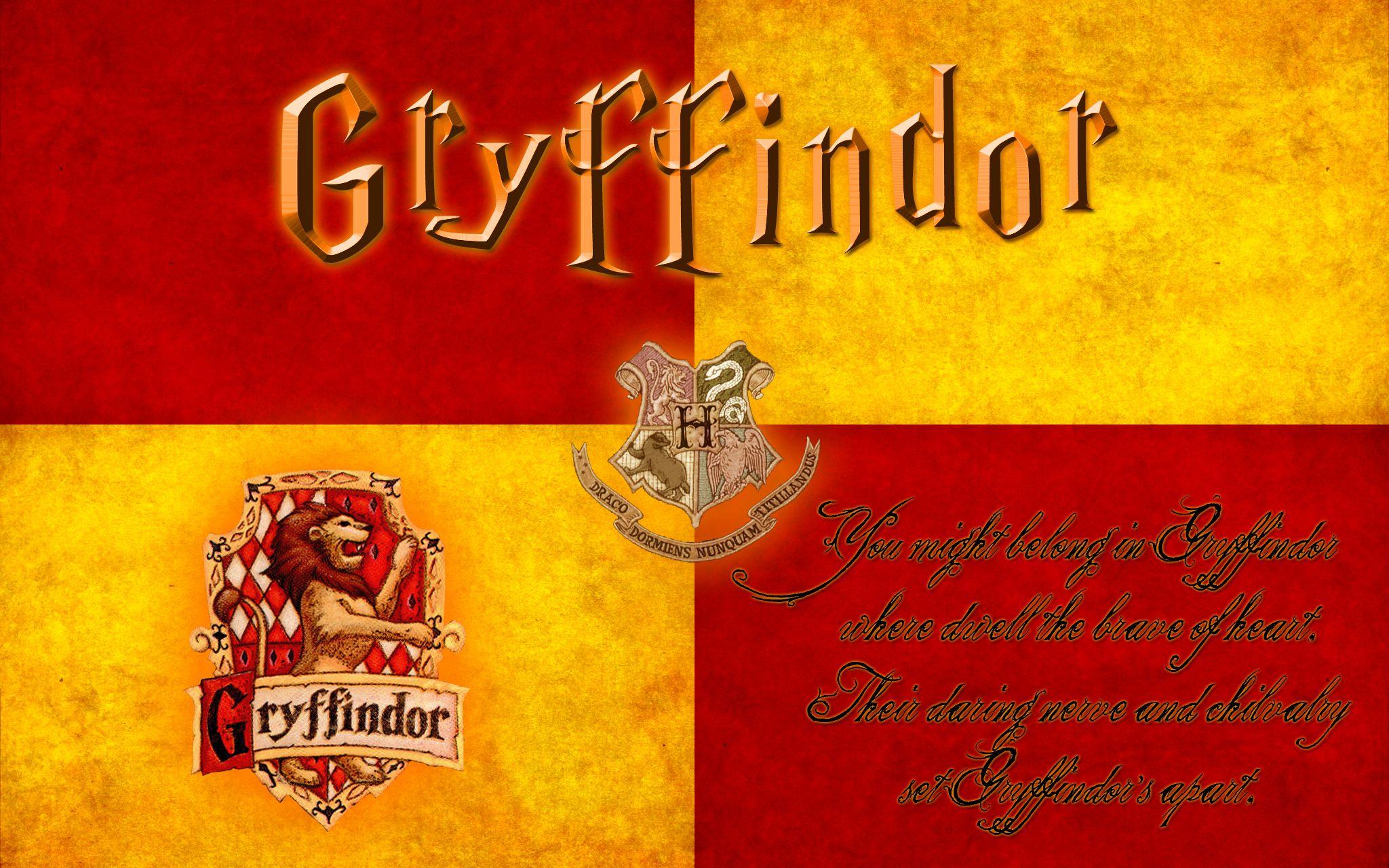 Gryffindor - Harry Potter Wallpaper (32294361) - Fanpop