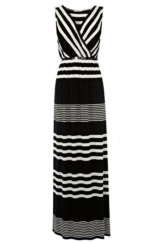 Oasis Monochrome Maxi Dress, £55
