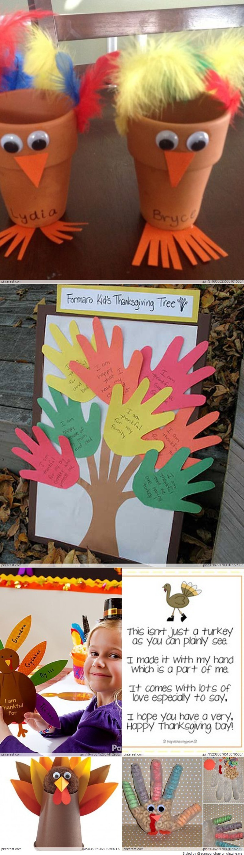 Thanksgiving Crafts for Kids Thanksgiving Crafts for