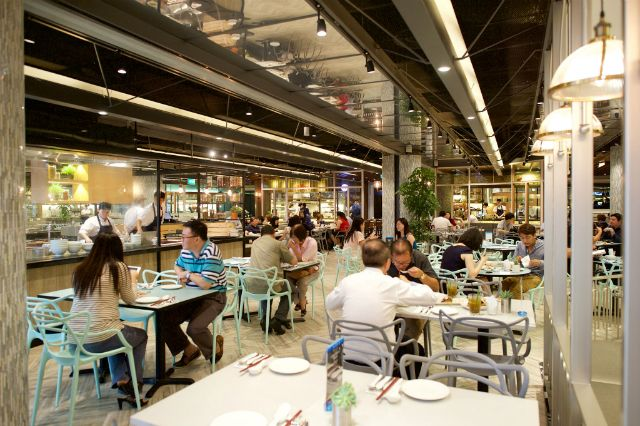 4 Fancy Food Courts To Try In Singapore Palette Restaurant Bar Food Court Fancy Food Food Stands