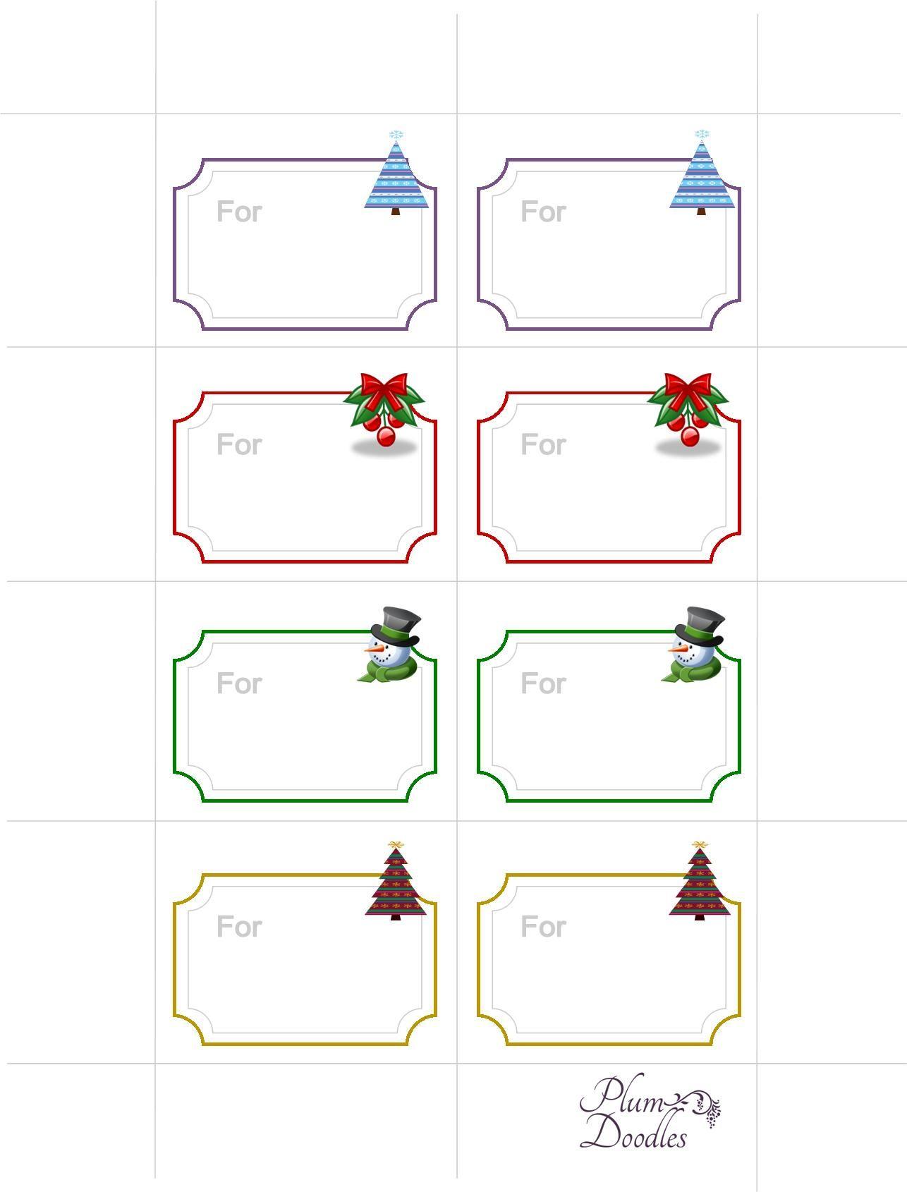 Free Gift Tags Printable | Graphics and Printables | Pinterest ...