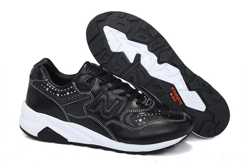 Discount New Balance MRT580 WHIZ Mita Black Leather Mens NB-580 Sneakers  For Males/