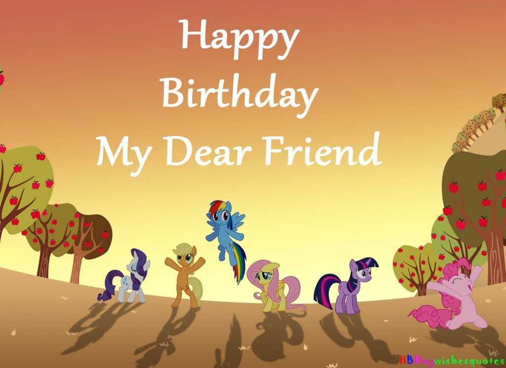 Top 10 Birthday Wishes For Best Friend Hd Images Birthday Cards