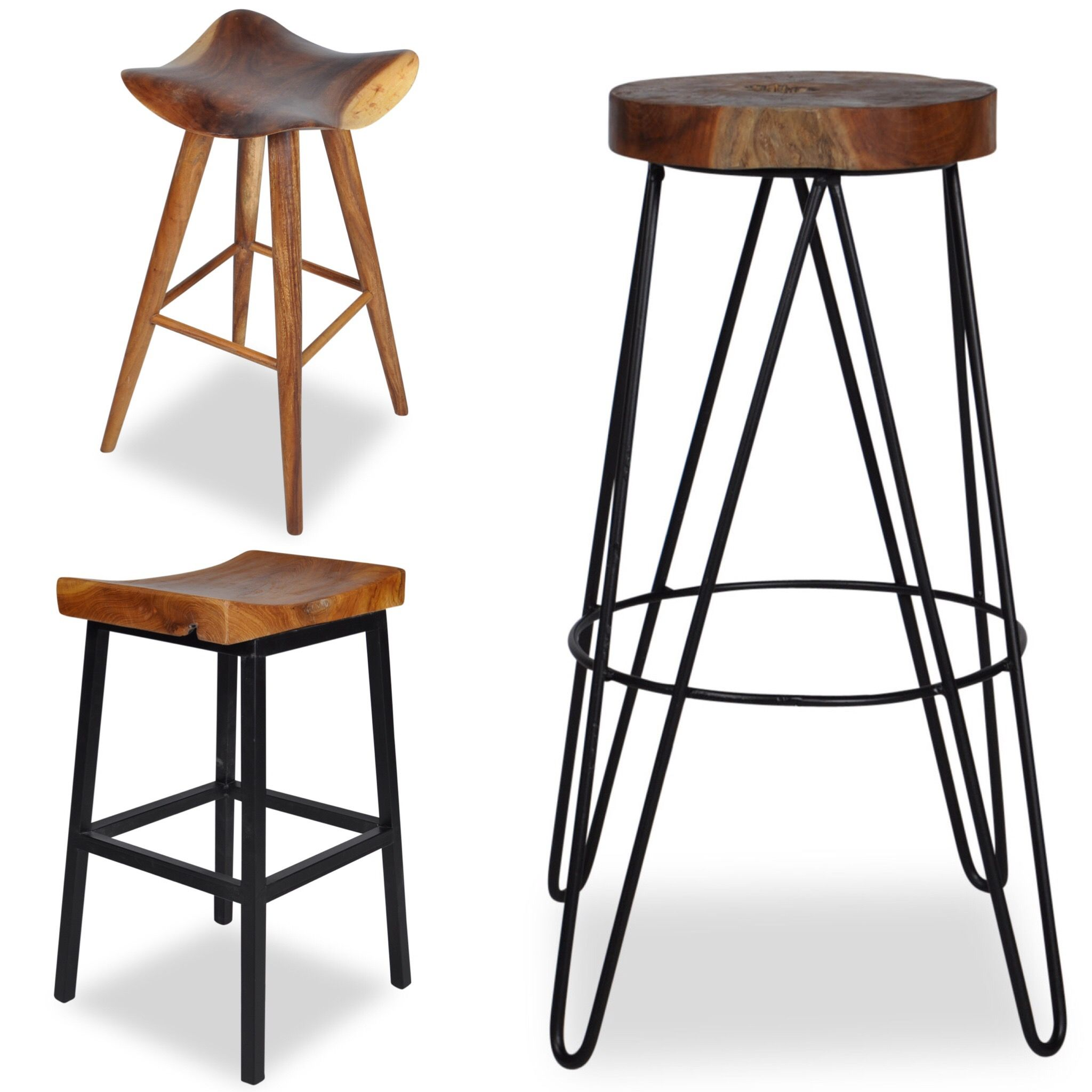 We Have A Huge Selection Of Wood And Metal Stools Here At