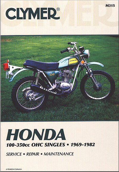 my honda sl100k2 on the cover 1972 sl100 pinterest honda rh pinterest com 1973 Honda XL 250 1984 Honda XL250