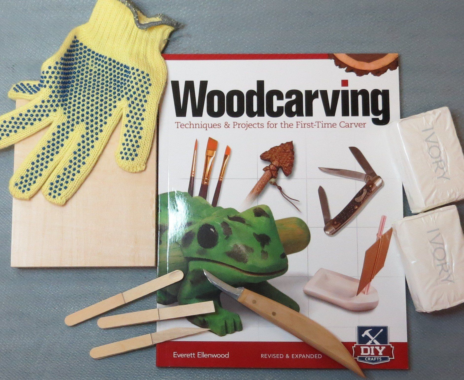 Kid Crafts Woodcarving Kit (that uses soap instead of wood