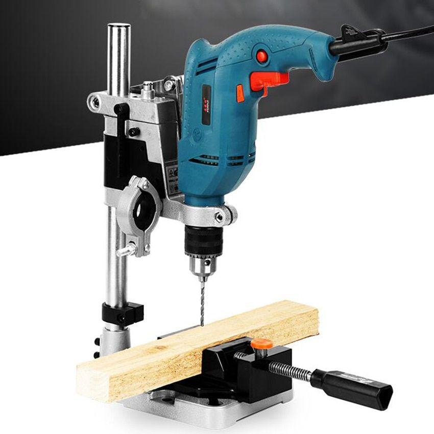 Power Tools Accessories Bench Drill Press Stand Clamp Base Frame For Electric Drills Diy Tool Press Hand D Drill Press Stand Drill Press Power Tool Accessories
