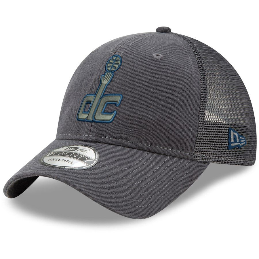 premium selection 95f7c deefb Men s Washington Wizards New Era Graphite Velocity Trucker 9TWENTY  Adjustable Snapback Hat, Your Price   23.99