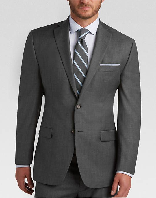 Gray Sharkskin Suit  Men's Suits  Lauren by Ralph Lauren   Men's Wearhouse is part of Mens suits - Buy Lauren by Ralph Lauren Gray Sharkskin Classic Fit Suit and other Sharkskin Suits at MensWearhouse com  Get FREE Shipping on orders $99+