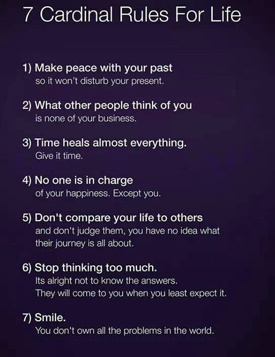 7 Rules Of Life Quote Beauteous Pretty Accurate Rules To Live By Quotes That I Love  Pinterest