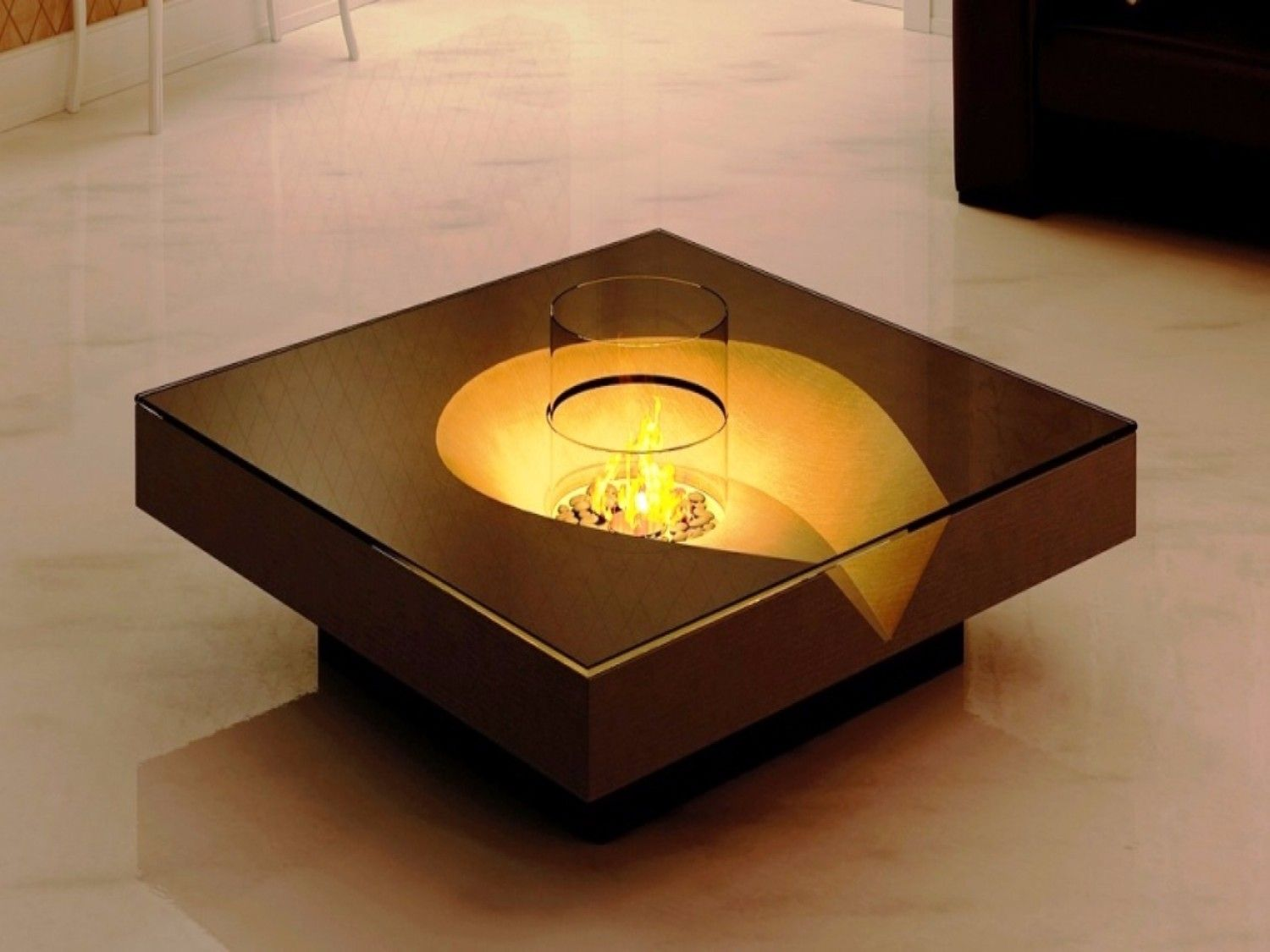 Pickrell Modern Coffee Table With Storage Modern Coffee Tables Living Room Decor Fireplace Coffee Table With Storage [ 800 x 1199 Pixel ]