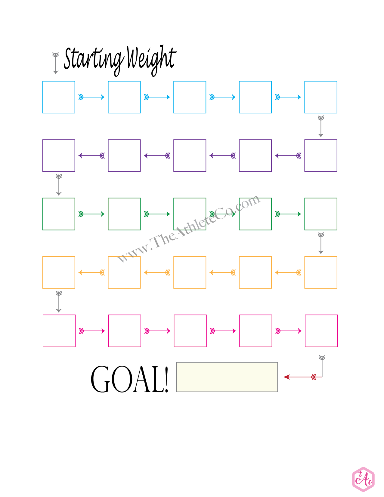 Pin On Fitness Printables