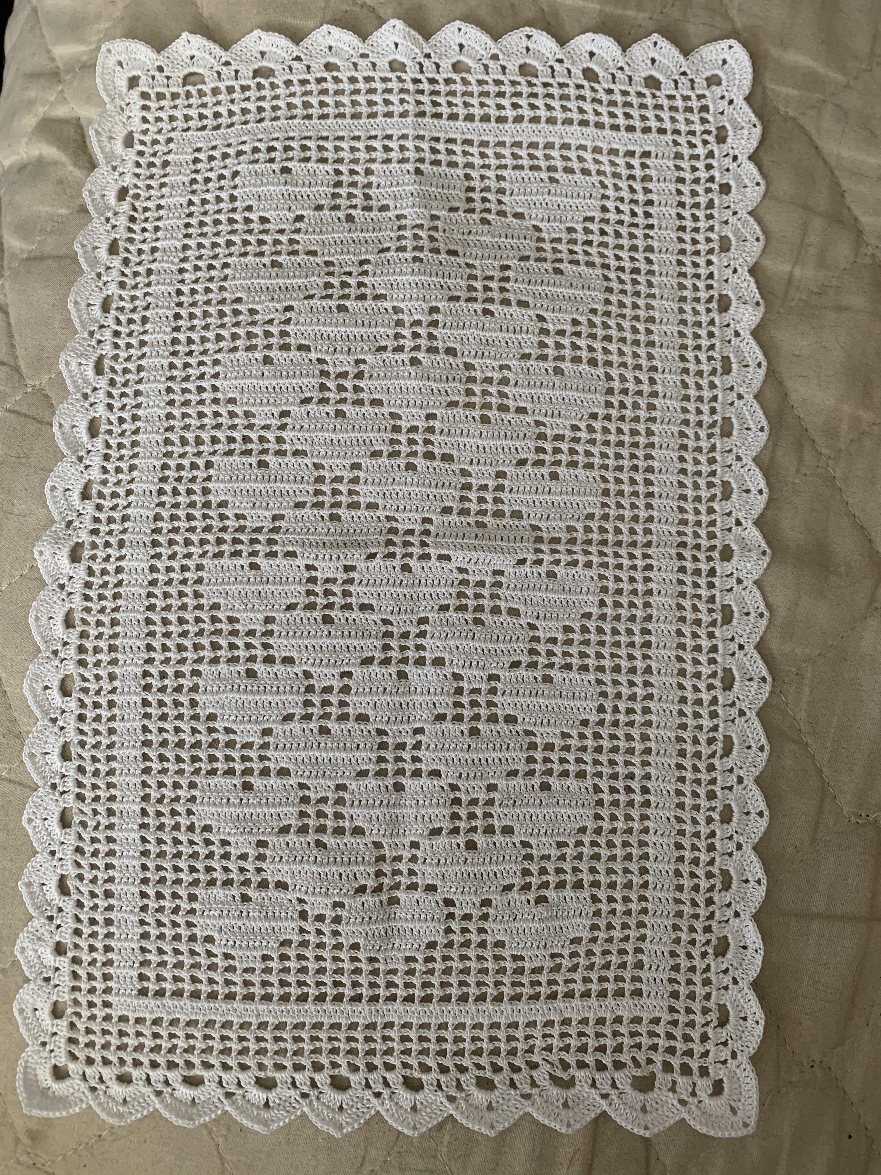 Imagem De Tapete De Croche Simples Por Librada Aguilar Em Puntadas