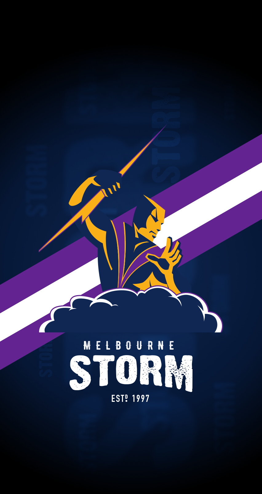 All Sizes Melbourne Storm Iphone 6 7 8 Lock Screen Wallpaper Flickr Photo Sharing Storm Wallpaper Storm Lock Screen Wallpaper