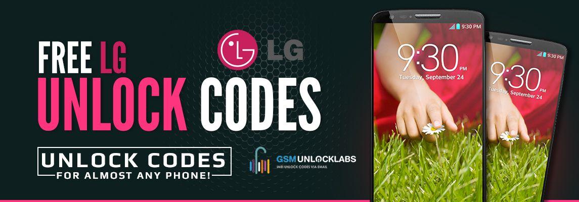 Free Lg Unlock Codes Gsmunlocklabs Coding Unlock Lg Phone