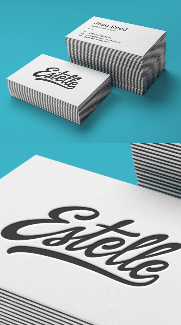 Letterpress business cards mockup mockups pinterest mockup letterpress business cards mockup reheart Gallery