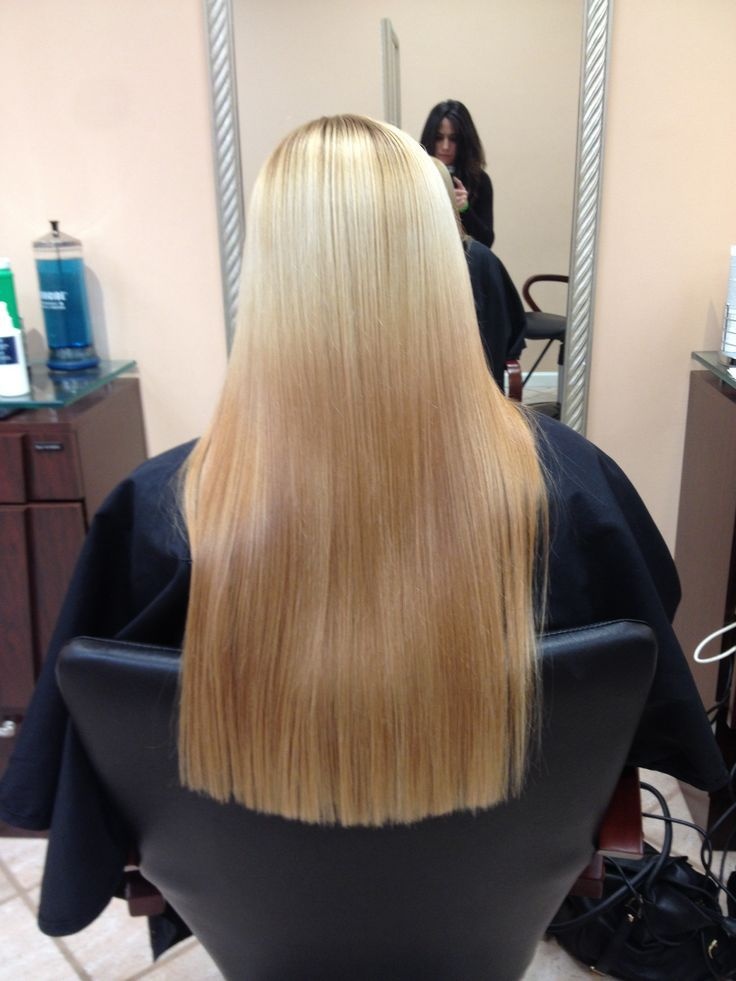 Long Square One Length Cut Long Hair Cuts And Styles