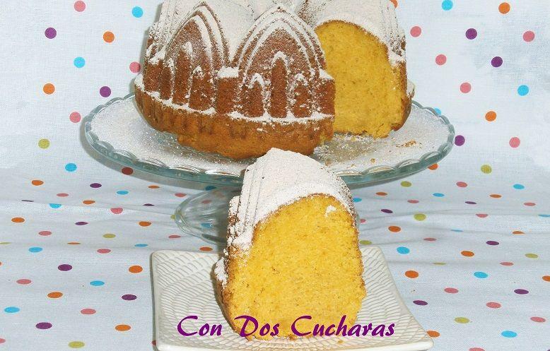 ConDosCucharas.com Bizcocho de boniato - ConDosCucharas.com