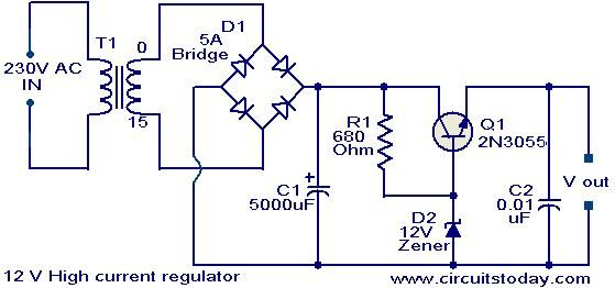 Step Down Voltage Regulator Wiring - Wiring Diagrams