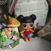 Crochet outfit 1 piece 3 inch LOL Little Lil Surprise Doll  Crismas