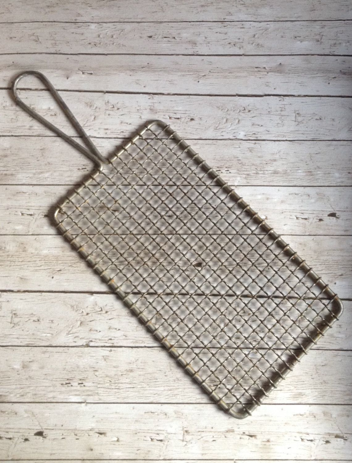 Vintage Cooling Rack Vintage Grater Drying Rack Metal Grater